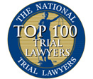 The National Trial Lawyers- Top 100 Trial Lawyers Seal